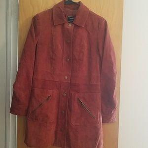 Pea Faux suede jacket